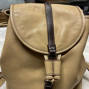 "Coach Vintage Tan Leather Legacy ""Daypack"""
